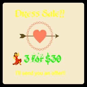 💃Dress Sale!💃3 for $30!💃💃💃💃💃💃